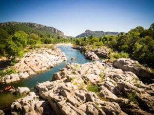 Camping nature sud de la France