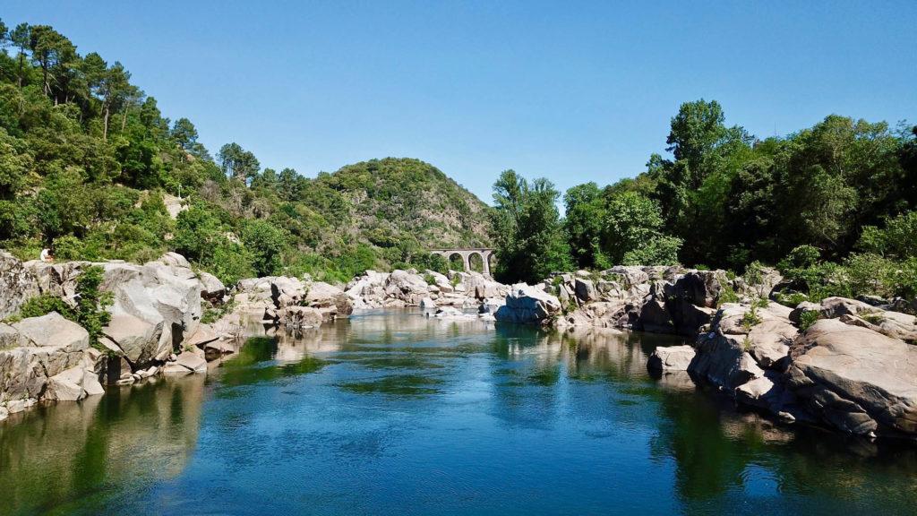 Camping rivière dans le Gard